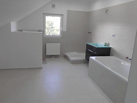 Bytová jádra, koupelny